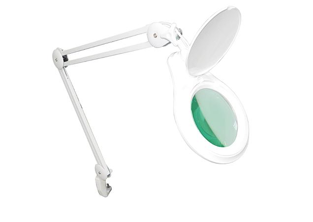 Lupa de Bancada LED c/ Dimmer HL-410 5D Solver