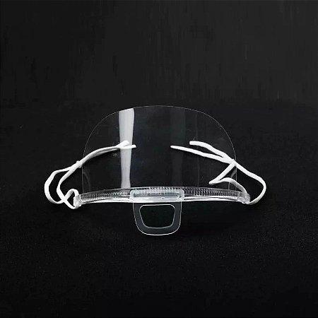 Máscara Plástica de Proteção Higiênica