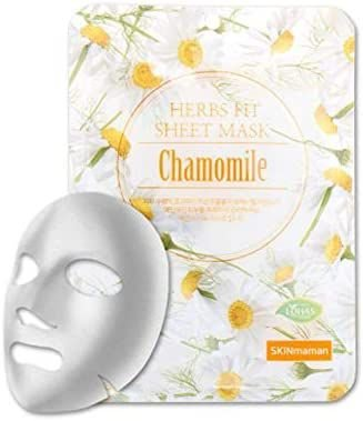 Máscara Facial Coreana Nohj Herbs Fit Sheet Mask Chamomile