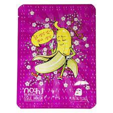 Máscara Facial Coreana Nohj Banana SSUL Snail Caracol
