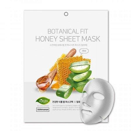 Máscara Facial Coreana Botanical Fit Aloe Vera e Mel