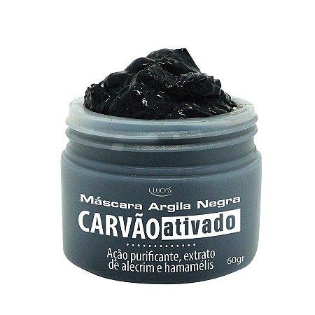 Máscara Argila Negra com Carvão Ativado 60g