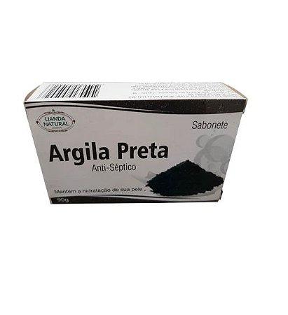 Sabonete Anti-Séptico Argila Preta 90g
