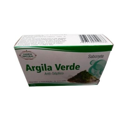 Sabonete Anti-Séptico Argila Verde 90g