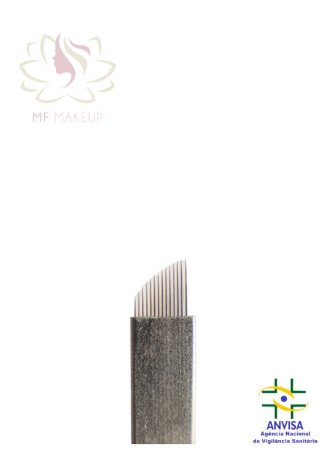 Lâmina Hard MF Makeup 12 pontas 0,20mm
