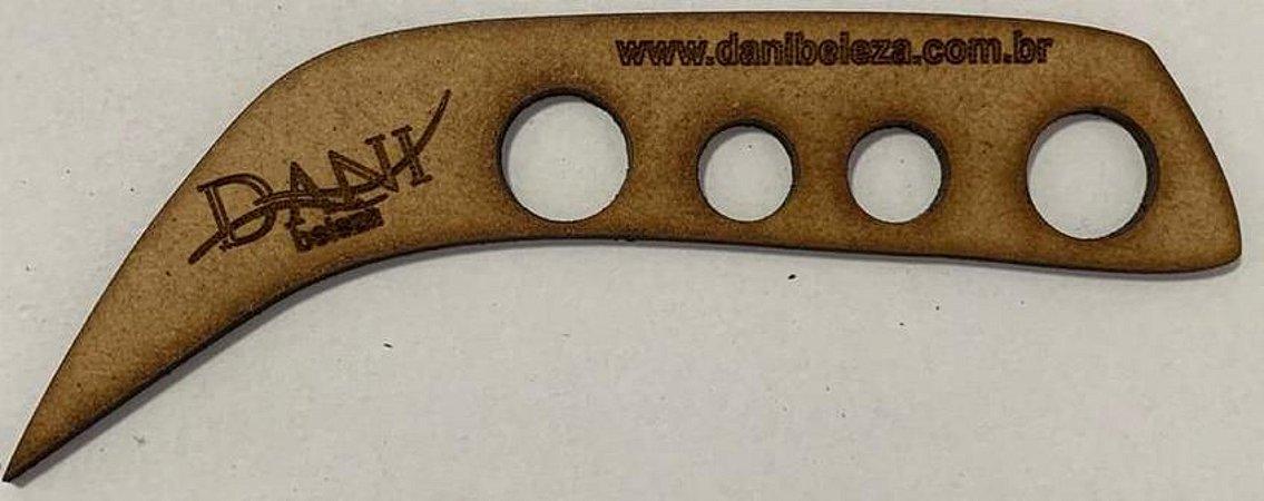 Porta Batoque MDF 6mm Sobrancelha