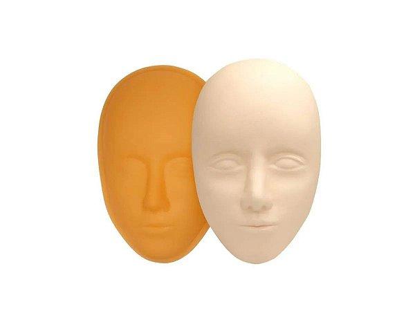 Pele Artificial Rosto 3D para Treino