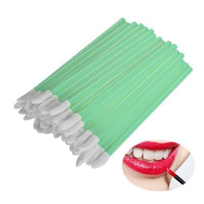 Bastão Pincel Aplicador Lip Gloss Verde