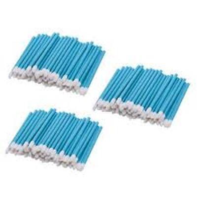 Bastão Pincel Aplicador Lip Gloss Azul