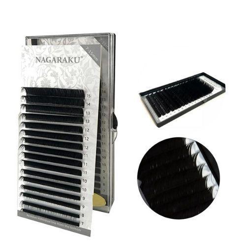Cílios Nagaraku Premium Eyeslash 0,07 D Mix 7-15mm