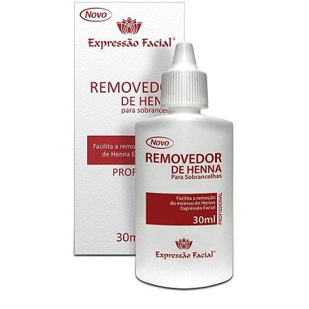 Removedor de Henna Expressão Facial 30ml