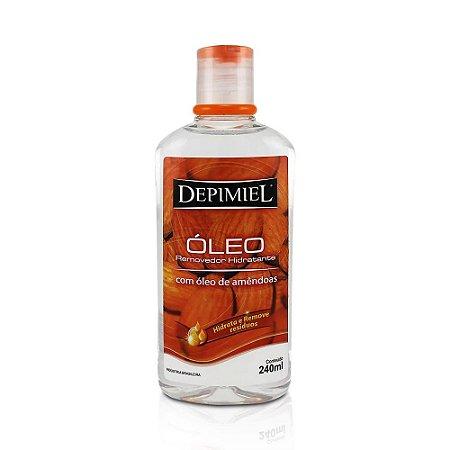Óleo Removedor Hidratante com Óleo de Amêndoas Depimiel 240ml