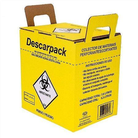 Coletor Perfurocortante 7,0 Litros Descarpack