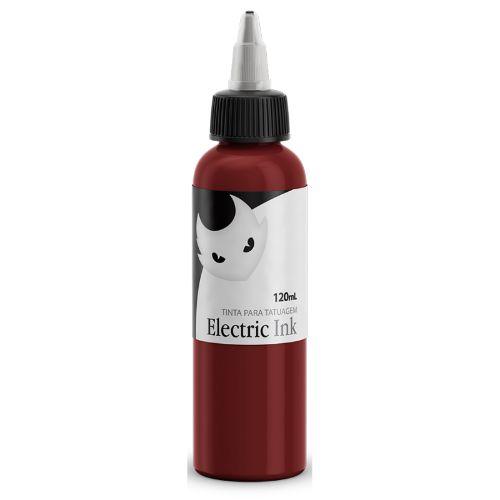 Tinta Tatuagem Vermelho Cereja Electric Ink 120ml