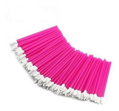 Bastão Pincel Aplicador Lip Gloss Rosa