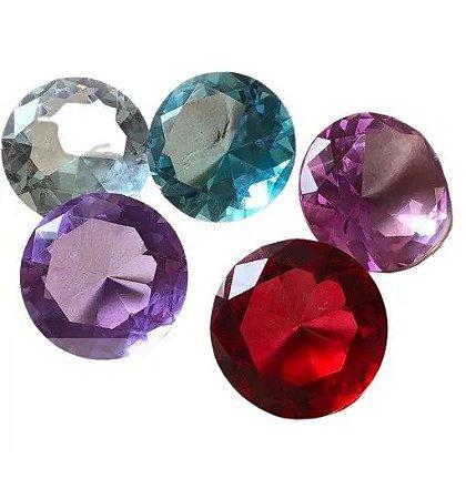 Pedra Cristal Diamante para Fotos Unhas