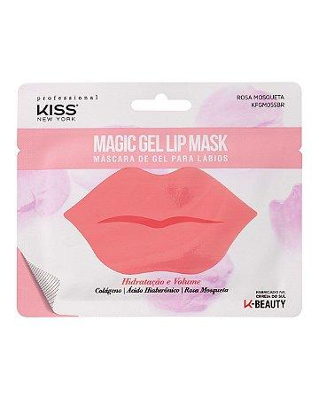 Máscara de Gel para Lábios - Magic Gel Lip Mask Kiss New York