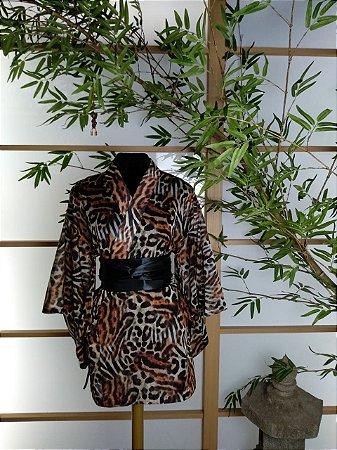 Kimono Curto Tigre