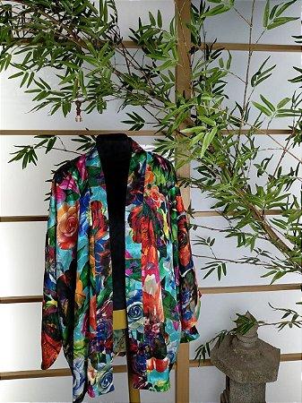 Kimono Curto Bara Laranja