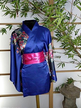 Kimono Curto Primavera