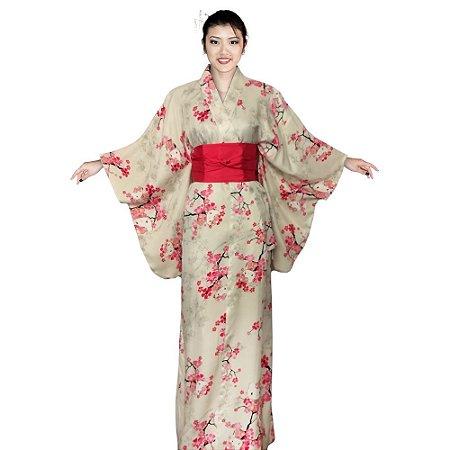 Kimono Offwhite Hello Kitty '19
