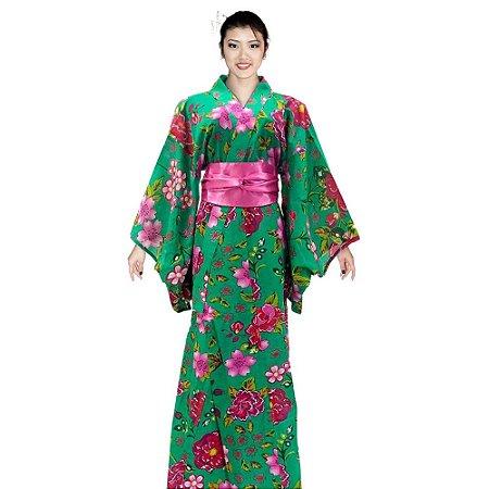 Kimono Chita Verde