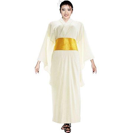 Kimono Longo Branco