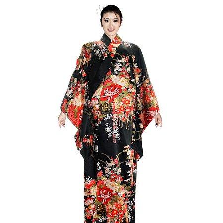 Kimono Mika Preto