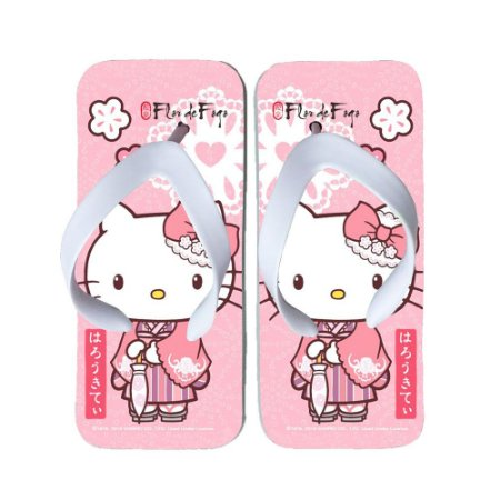 Chinelo Hello Kitty Rosa