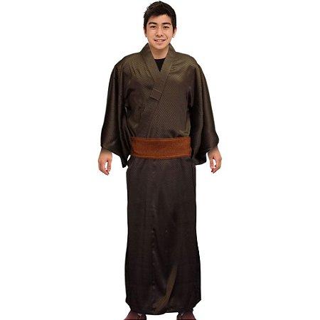 Kimono Rapport Marrom