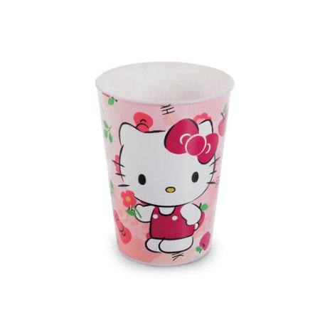 2 Copos da Hello Kitty Rosa 320ml