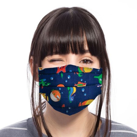 Máscara Fundo do Mar