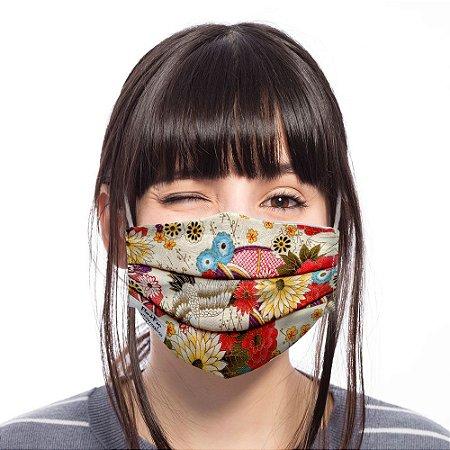 Máscara Flower Tsuru