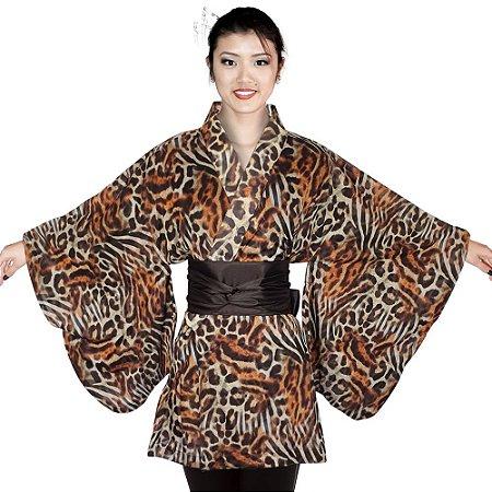 Kimono Curto de Onça