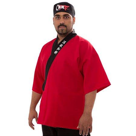 Happi Sushiman Vermelho - ESPÍRITO DE LUTA
