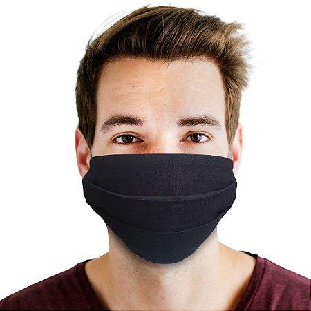 máscara básica preta