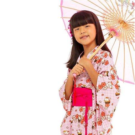 Kimono Infantil Hello Kitty Sushi '18