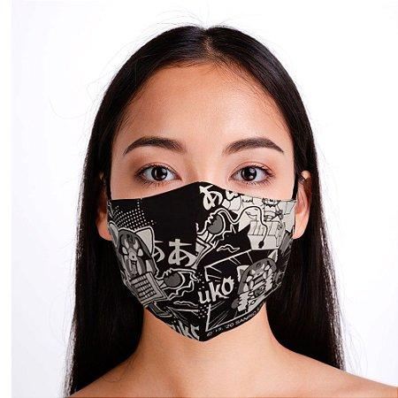 Máscara Preta Retsuko
