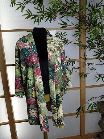 Happi Primavera Tsuru Verde