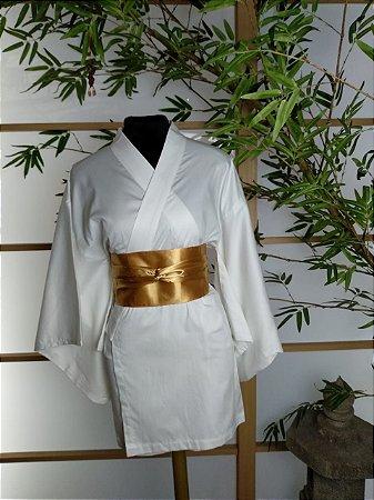 Kimono Curto Juban Branco