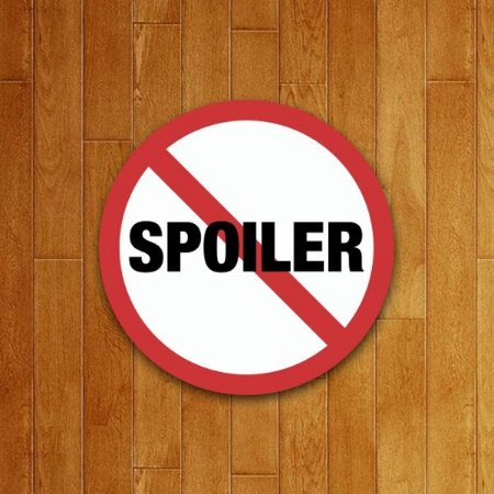 Placa Decorativa Proibido Spoiler
