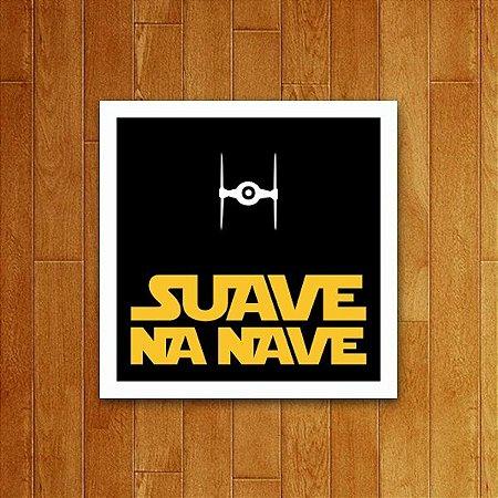 Placa Decorativa Suave Na Nave