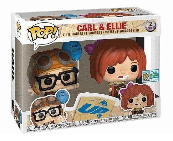 POP Funko - Carl & Ellie - Up Altas Aventuras