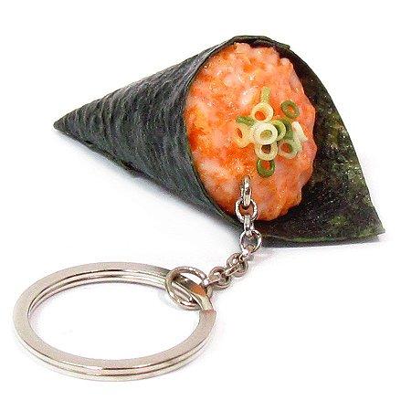 Chaveiro de comida - Temaki de Salmão