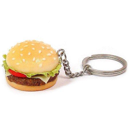 Chaveiro de comida - Hambúrguer
