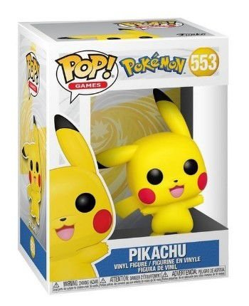 POP Funko - Pikachu Pokemon #553