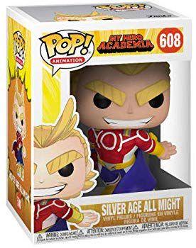 POP Funko - All Might Silver Age #608