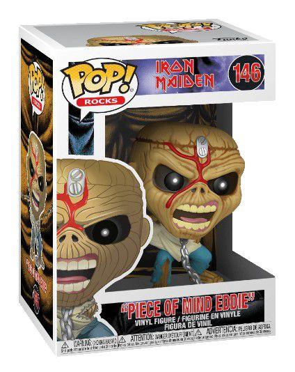 POP Funko - Piece of mind Eddie - Iron Maiden #146