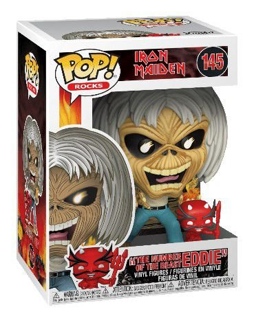 POP Funko - Number of the beast EDDIE - IRON MAIDEN #145