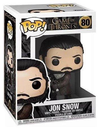 POP Funko - Jon Snow - Game of Thrones #80